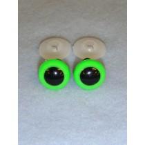 Animal Eye - 20mm Bright Green Pkg_50