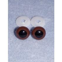 Animal Eye - 20mm Brown Pkg_50