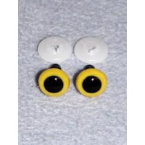 Animal Eye - 20mm Yellow Pkg_50