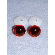 Animal Eye - 24mm Amber Pkg_50