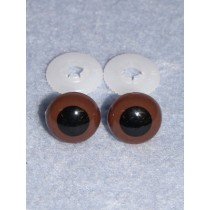Animal Eye - 24mm Brown Pkg_50
