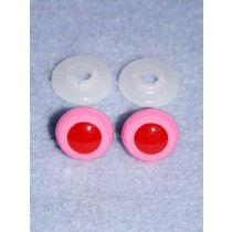 Animal Eye - 24mm Pink Pkg_50