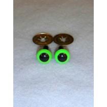 Animal Eye - 4.5mm Bright Green Pkg_100