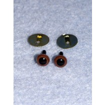 Animal Eye - 6mm Brown Pkg_8