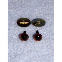 Animal Eye - 6mm Deep Brown Pkg_100
