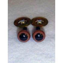 Animal Eye - 7.5mm Brown Pkg_100