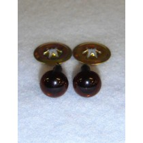Animal Eye - 7.5mm Deep Brown Pkg_100