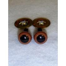 Animal Eye - 7.5mm Brown Pkg_6