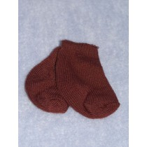 """Anklet - Cotton - 15-18"""" Brown (ME)"""