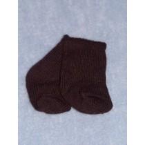 """Anklet - Cotton - 18-20"""" Black (LG)"""
