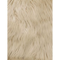 Beige Mongolian Fur - 1 Yd