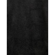 Black Beaver Fur Fabric - 1 Yd