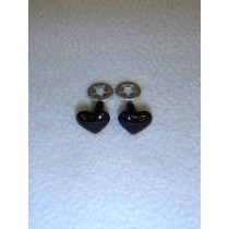 Black Heart Eyes_Nose - 13mm Pkg_6
