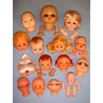 Box of Small Doll Heads (Seconds)