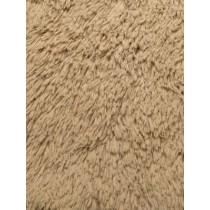 Camel Shaggy Cuddle Fabric - 1 Yd