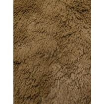 Cappuccino Shaggy Cuddle Fabric - 1 Yd