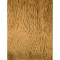 Caramel Luxury Shag Fur - 1 Yd