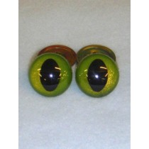 Cat Eye - 15mm Custom Color 1 pair
