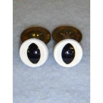 Cat Eye - 15mm White Pkg_100