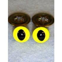 Cat Eye - 18mm Bright Yellow Pkg_100