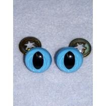 Cat Eye - 7.5mm Blue Pkg_100