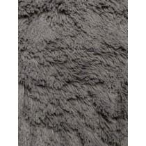 Charcoal Shaggy Cuddle Fabric - 1 Yd
