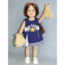 |Cheerleader Outfit & Pom-Poms