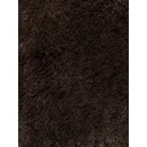 Chocolate Shaggy Cuddle Fabric - 1 Yd