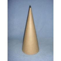 """Cone - Paper Mache - 10.6"""""""