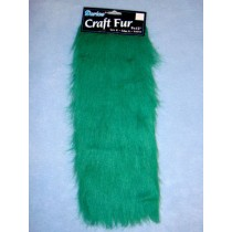 "Craft Fur - Green 9"" x 12"