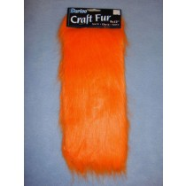 "Craft Fur - Orange 9"" x 12"""