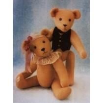 """D. D. 12"""" Teddy Bear"""
