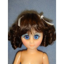 """Daisy Wig 6-7"""" Brown Black"""