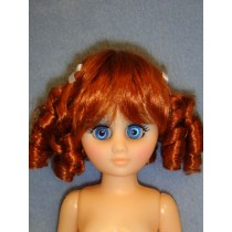 """Daisy Wig 6-7"""" Carrot Red"""