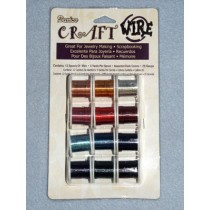 Dark Color Craft Wire Assortment