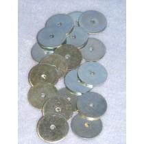 """Disks - Metal - 1"""" Pkg_100"""