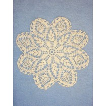 """Doily - Pineapple - 6"""" Natural"""