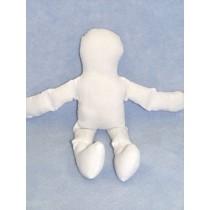 """Doll - Muslin - 18"""" White"""