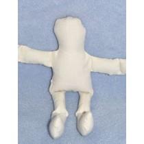 "Doll - Muslin - 8"" Off-White"