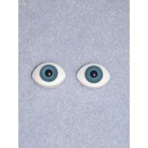 Doll Eye - Paperweight - 12mm Blue