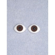 Doll Eye - Paperweight - 16mm Dk Brown