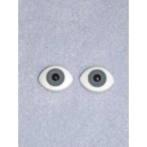 Doll Eye - Paperweight - 16mm Gray