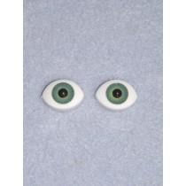 Doll Eye - Paperweight - 16mm Green