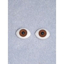 Doll Eye - Paperweight - 18mm Brown