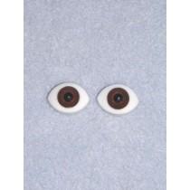 Doll Eye - Paperweight - 18mm Dk Brown