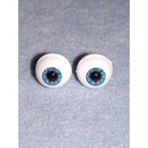 Doll Eye - Real Eyes - 14mm - Blue