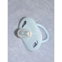 "Doll Pacifier - 2"" Light Blue"