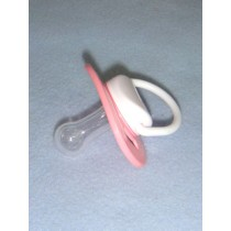 "Doll Pacifier - 2"" Light Pink"