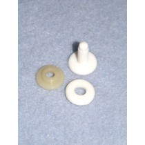 Doll and Bear Joints - 15mm Pkg_12