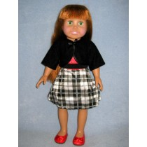 "|Dressy Outfit for 18"" Dolls"